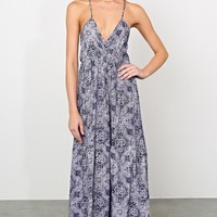 Elodie Paisley Maxi Dress