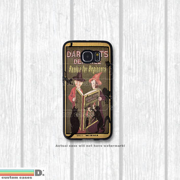 Harry Potter Inspired, Dark Arts Defense Basics and other Text Books, Custom Phone Case for Galaxy S4, S5, S6