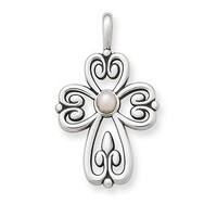 Cross of Adoration with Pearl: James Avery