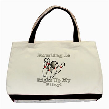 Bowling Is... Classic Tote Bag (Two Sides)