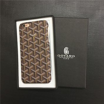 Goyard IPhone 7 Plus Case Simpson Series Shockproof Cover Hard Denfender Case for IPhone 7,iPhone 7 Plus,iPhone 6s,iPhone 6s Plu