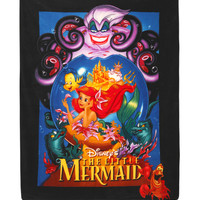 Disney The Little Mermaid Comfy Throw