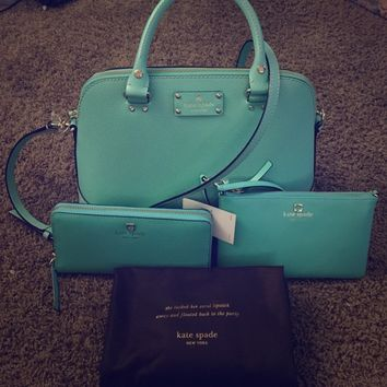 Kate spade purse, wallet and wristlet!! 👜👛👍