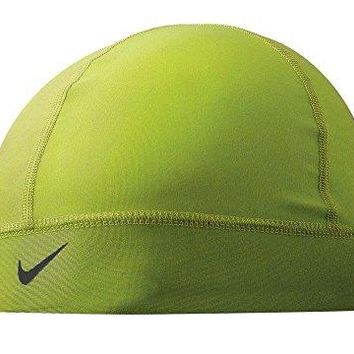 Nike Pro Combat Skull Cap (One Size Fits Most, Volt/Black)