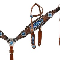 Aztec Royal Beaded Tack Set