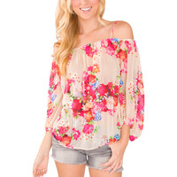 Georgia Girl Floral Top