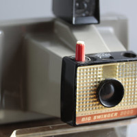 Big Swinger Polaroid 3000 camera, Retro Camera, Vintage Polaroid, vintage camera, 1960s camera