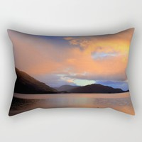 Sunset Rectangular Pillow by Haroulita | Society6