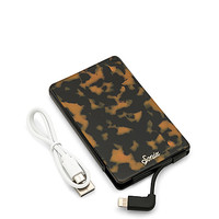 Sonix Brown Tortoise Portable Charger in Brown Tort | REVOLVE