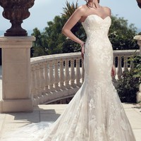 Casablanca Bridal 2142 Fit and Flare Wedding Dress