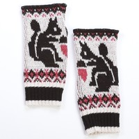Cute Squirrel Handwarmers - Matching Scarf Available
