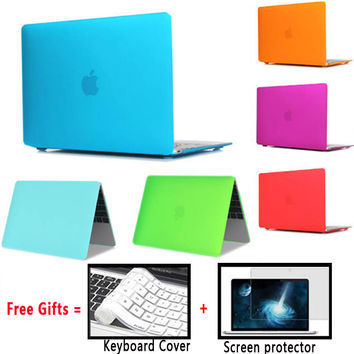 Matte Laptop Cover For Apple Macbook Pro 13 Air 13 Case 13.3 inch Matte Laptop Cases for Pro 13 Cases with Retina Air 13 Cover