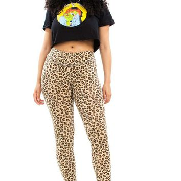 Vintage Y2K On the Prowl Leggings - S