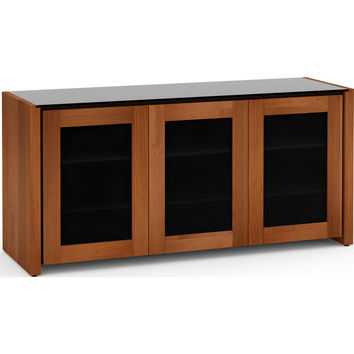 Corsica 65 Inch TV Stand Cabinet Extra Tall American Cherry