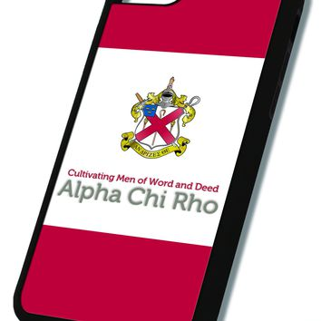 Alpha Chi Rho iPhone Case