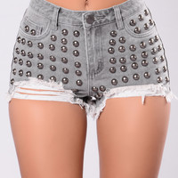 Make It Nasty Shorts - Black