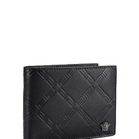Versace - Greca Embossed billfold wallet
