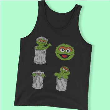 Oscar The Grouch Men'S Tank Top