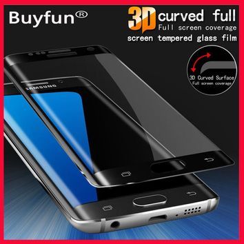 S8 glas For Samsung Galaxy S 8 plus covers 3D Full Screen Protector Tempered glass On Samsung Galaxy S8 S 8 plus S8+ Film Case