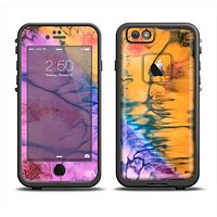 The Vivid Colored Wet-Paint Mixture Apple iPhone 6 LifeProof Fre Case Skin Set
