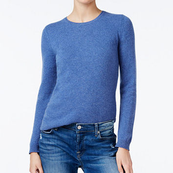 Charter Club Cashmere Crew-Neck Sweater, Only at Macy's, 18 Colors Available   macys.com