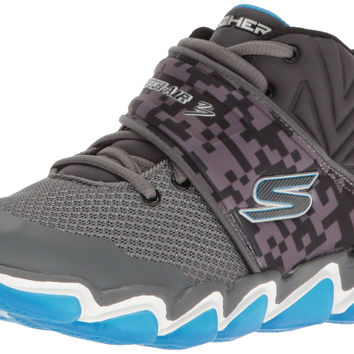 Skechers Kids Boys Skech-Air 3.0 Sneaker Charcoal/Blue Little Kid (4-8 Years) 13 M US Little Kid '