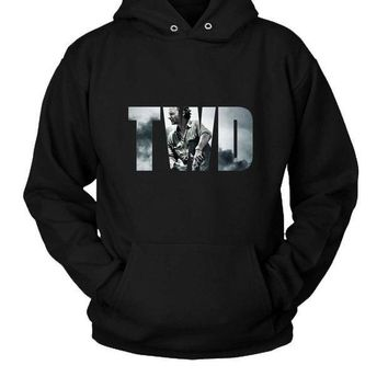 ICIK7H3 The Walking Dead Hoodie Two Sided