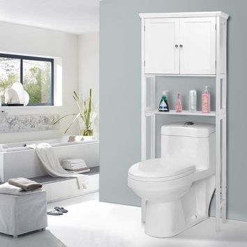 Collette Toilet Storage Space Saver Towel Rack Shelf This is brand new toilet storage space saver shelf, which is a perfect furniture to decor your bathroom without sacrificing valuable floor space.