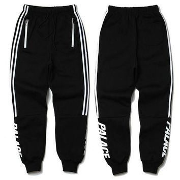 PALACE Skateboards Sport Pants Hip Hop Union Kanye 3M Reflective JOGGER High Quality Fashion Triangle Palacio Autumn Sweatpants