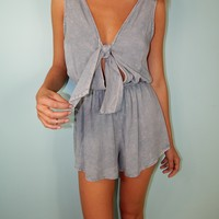 Denim Lover Romper