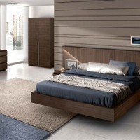 Composition 501 Platform Bed
