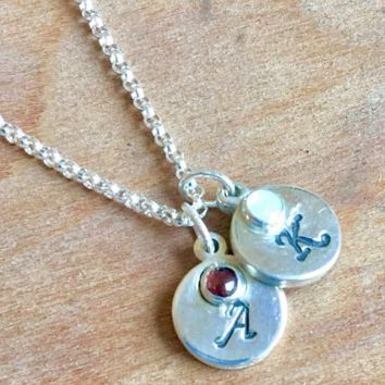 Birthstone Necklace, Gift for Mom, Mother's Necklace, Gift for Her
