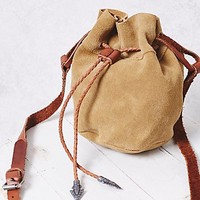 Free People Easy Rider Suede Bucket Bag