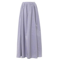 Bis Sailor stripe maxi skirt