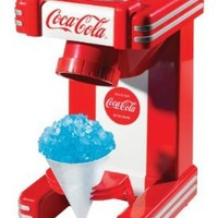 Nostalgia Electrics Coca Cola Series RSM702COKE Single Snow Cone Maker:Amazon:Kitchen & Dining