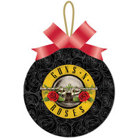 Guns N Roses Christmas Ornament
