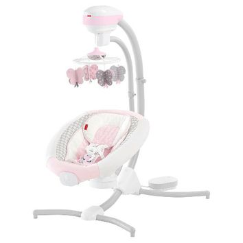 Fisher-Price Sweet Surroundings Cradle 'n Swing Butterfly Friends