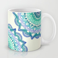 Deep Forest Flower Mug by Tangerine-Tane