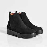 Jeffrey Campbell Hoshi Treaded Boot- Black