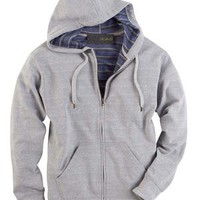 French Terry Hoodie - Buy Full-Zip French Terry Hoodie W Inside Stripe