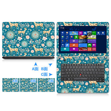 Notebook laptop full computer case film 10 14 15  15.6 inch computer sticker outside protective cover laptop ipad  skin Decal #1