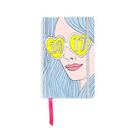 'Girl Crush' Stylish and Fun Planner - 2017, 17 Month Agenda