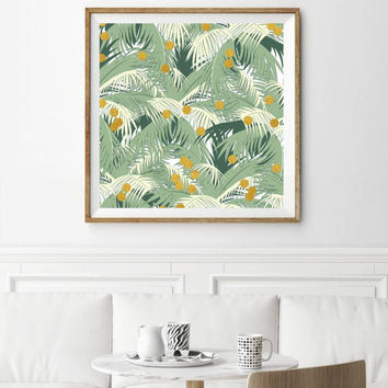 Palm + Gold #society6 #decor #buyart by 83 Oranges™