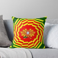 'PORTUGAL 2' Throw Pillow by planetterra