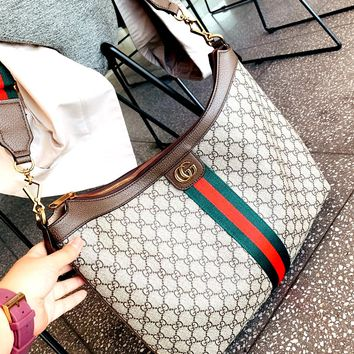 Free shipping-GUCCI Ophidia canvas bag