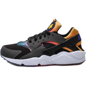 Nike Air Huarache - Black/Persian Violet/Tour Yellow