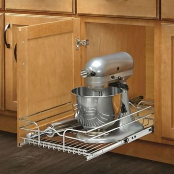 Rev-A-Shelf® Single Tier Pull-Out Wire Basket