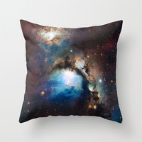 Nebula Pillow Cover, Outer Space Pillow, Cosmic, Nebula in Orion
