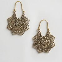 Child Of Wild Lahu Hoop Earrings at asos.com