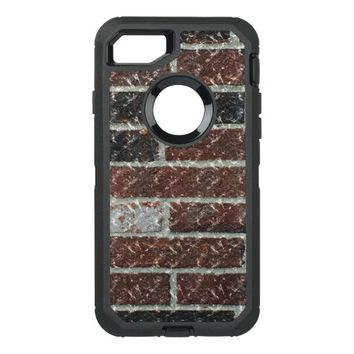 Multi-Color Marble Brick OtterBox Defender iPhone 7 Case